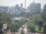 Nairobi as seen from the offices of Google