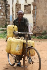 Transporting water is a daily activity