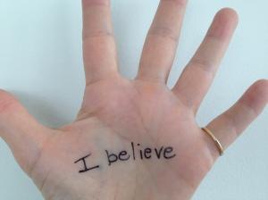I believe, Lori Thicke's hand