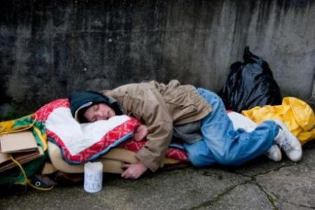 homeless man, translators without Borders, Hope Housing