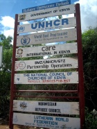 Dadaab Camp Signs